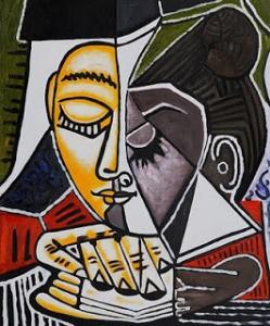 portret Picasso